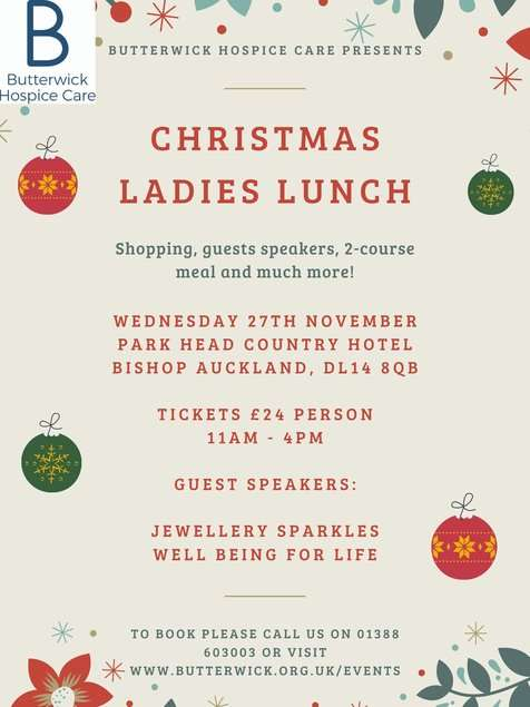 butterwick-event-christmas-ladies-lunch-nov2019-banner