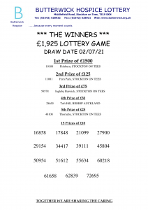 02.07.21 Lottery