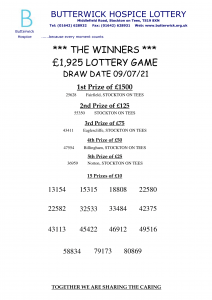 09.07.21 Lottery
