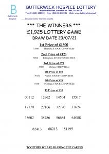 23.07.21 Lottery